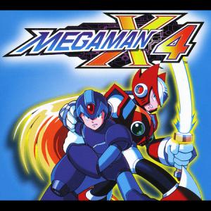 Mega man X4   Logo