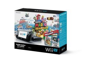 Nintendo Wii U Super Mario 3D World Bundle