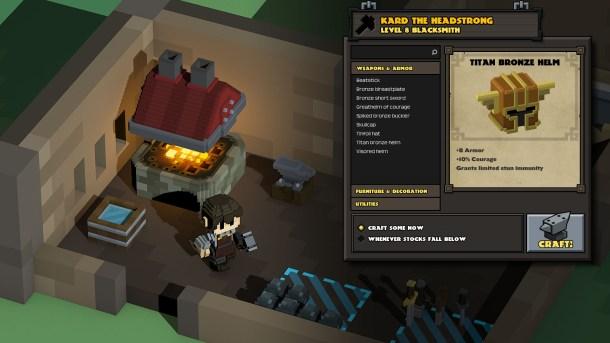 Stonehearth - Crafting