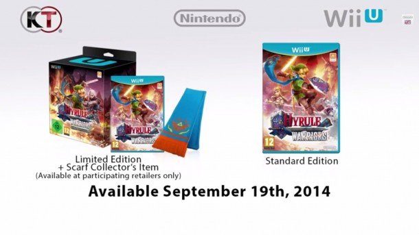 Hyrule Warriors Limited Edition Scarf - Europe   oprainfall