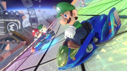 Mario Kart 8 | Luigi F-Zero Kart