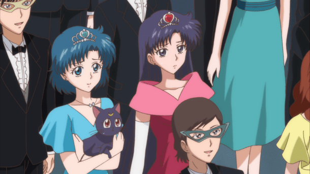 Sailor Moon Crystal Episode 4 | Rei and Ami