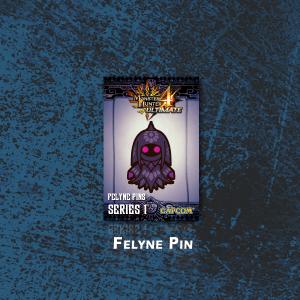 MH4U - Felyne Pin