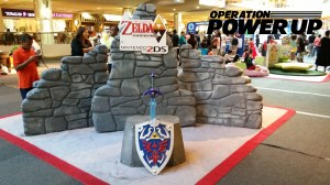 The Legend of Zelda:  A Link Between Worlds Booth