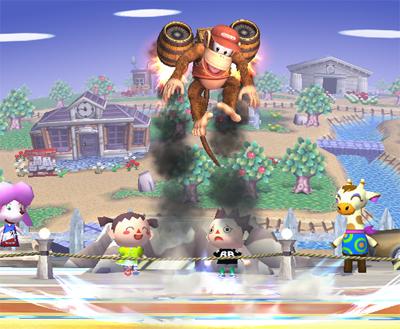 Smashing Saturdays! - Super Smash Bros.   Rocketbarrel Boost