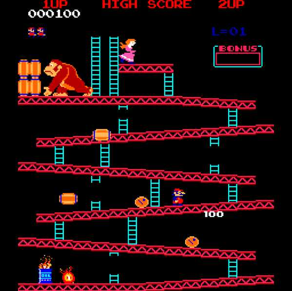 Video Game Hall of Fame | Donkey Kong