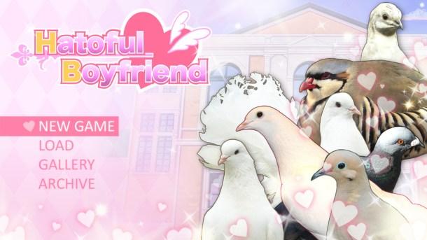 Hatoful Boyfriend | Title Screen