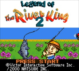 Legend of the River King 2 - Title Screen