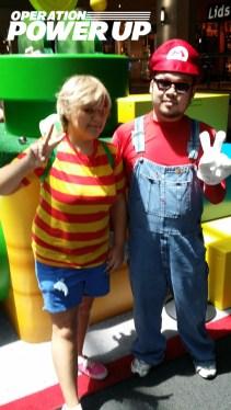 Lucas and Mario!