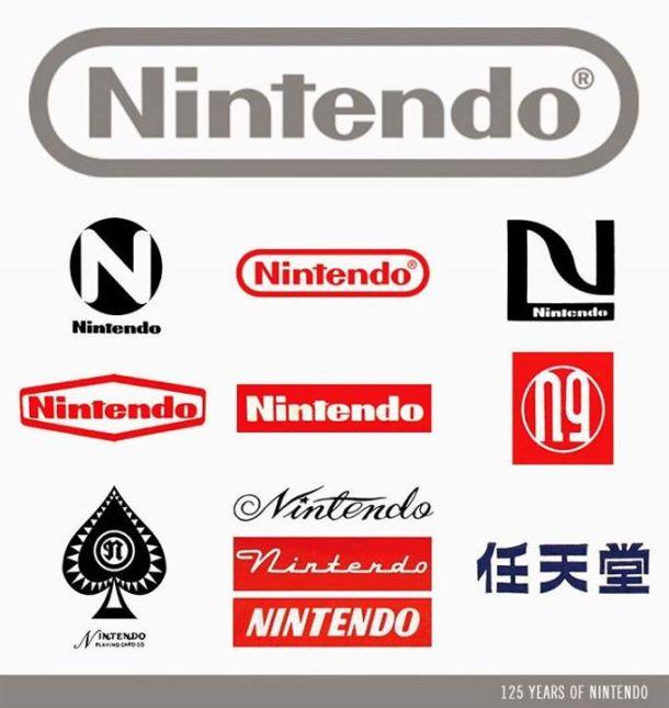 Nintendo - Logos   Nintendo 125th Anniversary