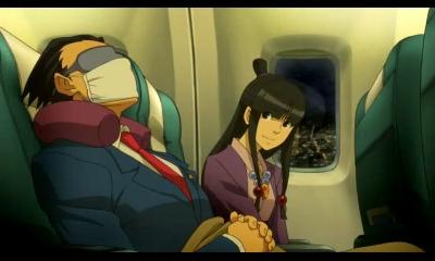 Professor Layton vs Phoenix Wright Ace Attorney | Phoenix and Maya