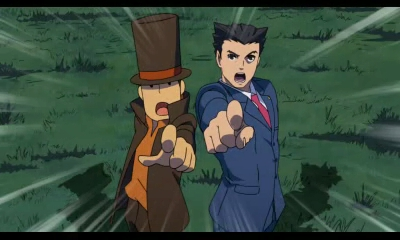 Professor Layton vs Phoenix Wright Ace Attorney | The Greatest Adventure Game Team-up Ever