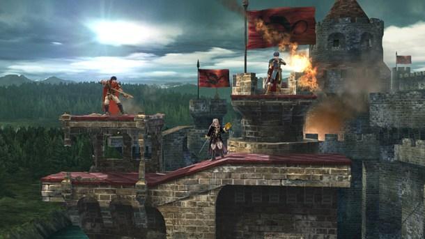 Castle Siege - Rooftop | Super Smash Bros. for Wii U