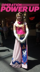 Local lovely Zelda cosplayer!