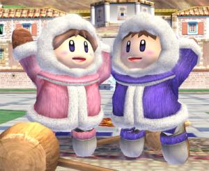 Super Smash Bros - Ice Climbers   oprainfall