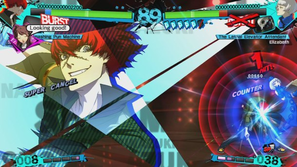 Persona 4 Arena Ultimax | Sho's Attack