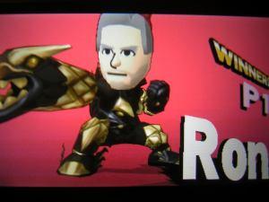 Smash Bros Mii fighter | Ron 2