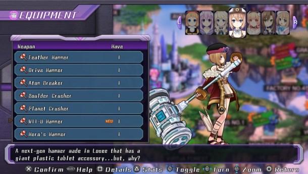 Neptunia ReBirth | WiiU