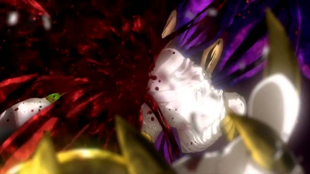 Bayonetta: Bloody Fate - explosion