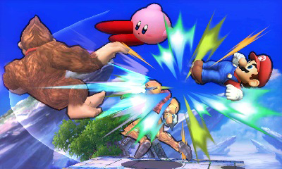 Super Smash Bros. 3DS - brawl