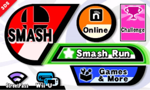 Super Smash Bros for 3DS | Menu