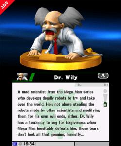 Super Smash Bros for 3DS | Trophy
