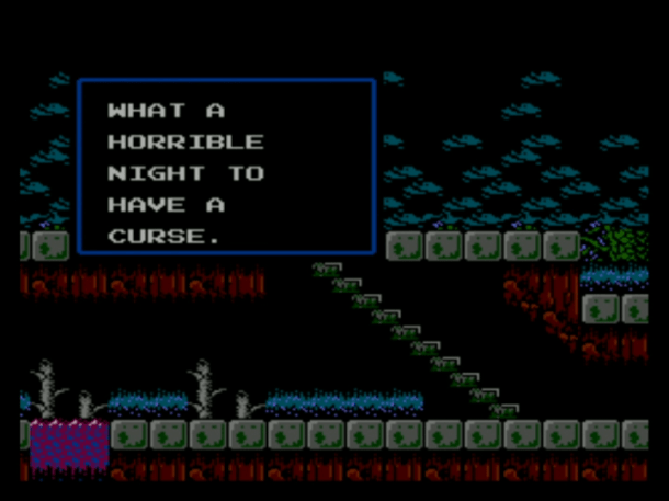 Castlevania II: Simon's Quest | What A Horrible Night To Have A Curse