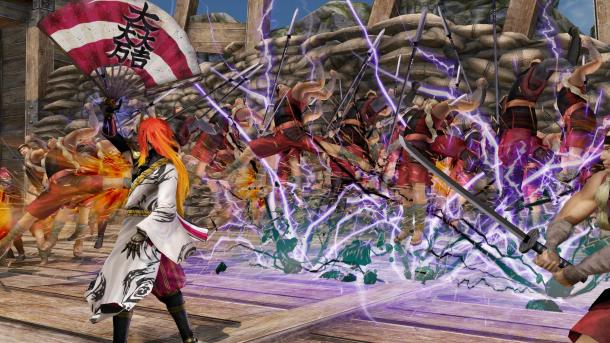 Samurai Warriors 4 | Power Attack