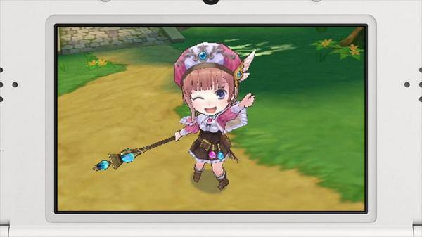 Atelier Rorona for the 3DS