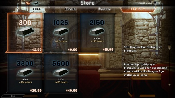 Dragon Age: Inquisition | Microtransactions