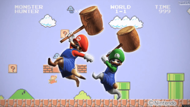 Monster Hunter 4 Ultimate - Mario and Luigi Costumes