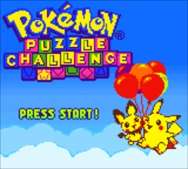 Pokemon Puzzle Challenge - Title