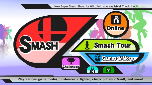 Smashing Saturdays - Super Smash Bros. | Wii U Menu