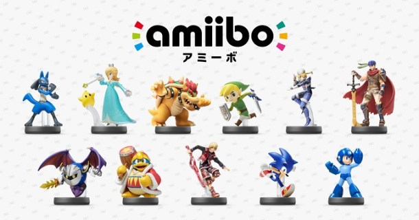 Nintendo amiibo Third Wave