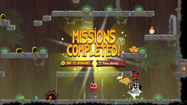 Poof Vs the Cursed Kitty   missions complete