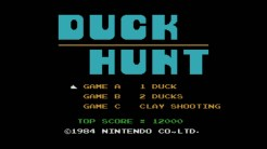 Duck Hunt - Title Screen