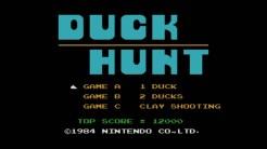 Duck Hunt - Title Screen