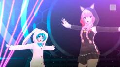 Hatsune Miku: Project Diva F 2nd | Miku and Luka Costumes