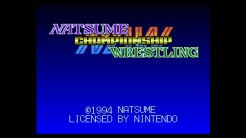 Natumse Championship Wrestling - Title Screen