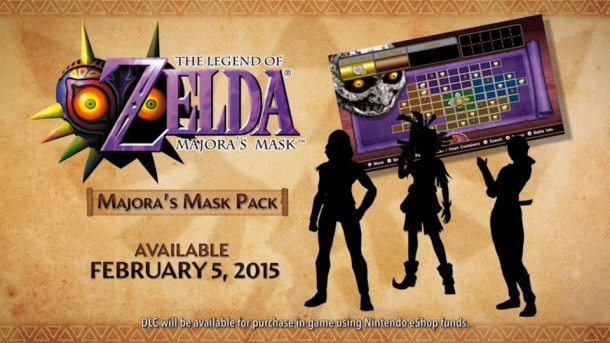 Hyrule Warriors Majora's Mask Pack