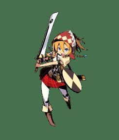 Etrian Mystery Dungeon Female Landsknecht