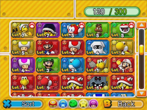Puzzles & Dragons Mario Edition | Party Customization