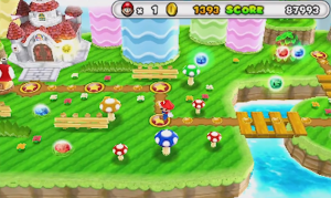 Puzzles & Dragons Mario Edition | World Map