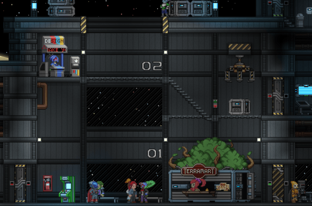 The Central Outpost   Starbound