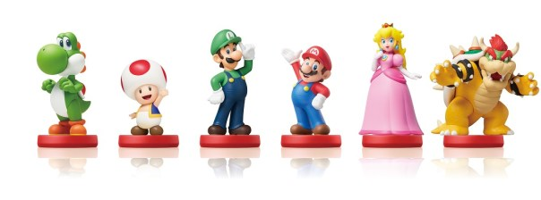 Super Mario amiibo Line-up