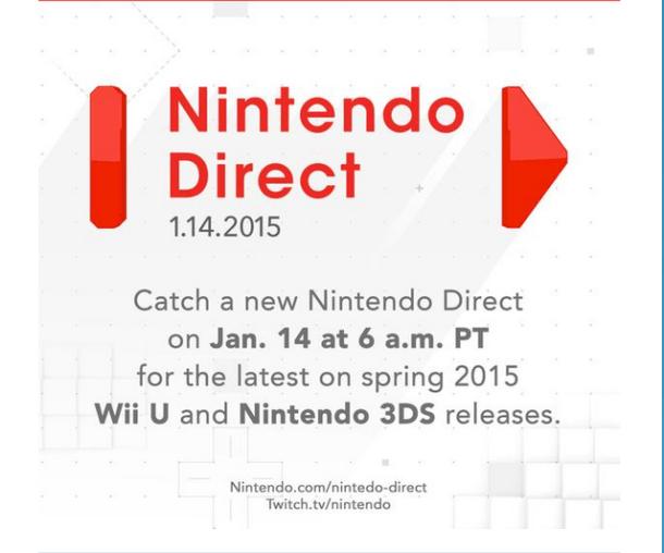Nintendo Direct - January 14th, 2015