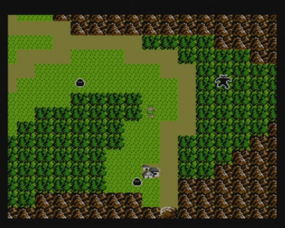 Zelda II: Adventure of Link | Overworld
