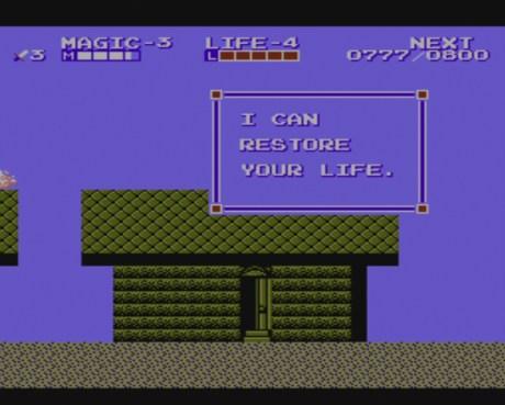 Zelda II: Adventure of Link | Suspicious Healing