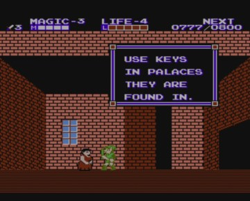 Zelda II: Adventure of Link | Nah, really?