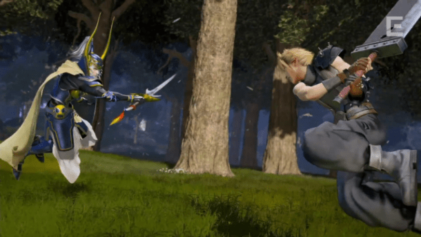 Dissidia FF arcade Warrior Cloud